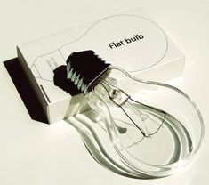 packaging lampadina: flat bulb