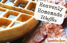 Better-than-Freezer Waffles | via @SparkPeople #recipe #food #breakfast #healthy