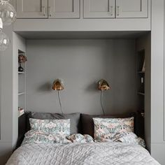 Bedroom Built In Wardrobe, Bedroom Built Ins, Fitted Bedroom Furniture, Fitted Bedrooms, Small Master Bedroom, Dream Bedroom, Home Bedroom, Bedroom Decor, Small Room Design