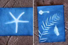 Sun Prints Summer Craft for Kids