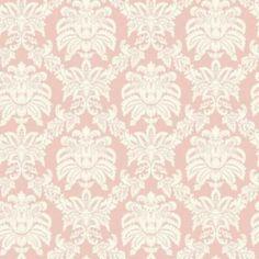 Sanitas® 20½'' W Pink Pastel Sweeping Damask Wallpaper - Sears | Sears Canada