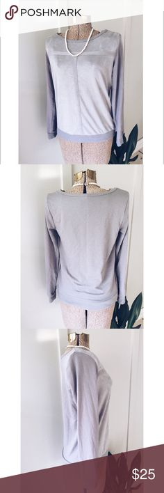 Juicy Couture Gray Long Sleeve Shirt Soft Gray Long Sleeve Shirt Or Pull Over. Excellent Condition! Size M. Also I Follow All Posh Rules & No Trades. An Unless It Says SOLD, It's Still Available! Everything Comes Clean From A Smoke Free Home! Thank You! Don't Forget To Bundle & Happy Poshing! ☕️🌵 Juicy Couture Tops Tees - Long Sleeve