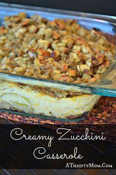 Creamy Zucchini Cass
