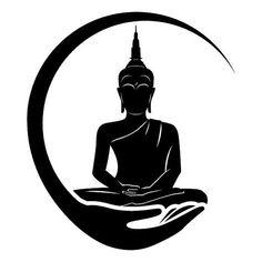 Bodhi Tree Buddhahood Buddha S In Thailand Buddhist Meditation Buddhism PNG - black and white, bodhi tree, buddhahood, buddha images in thailand, buddharupa Buddha Tattoos, Buddha Tattoo Design, Shiva Tattoo Design, Buddha Drawing, Buddha Painting, Yoga Painting, Buddha Wall Art, Buddhist Meditation, Mandala Art