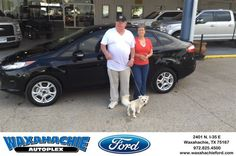 Happy Anniversary to Earl on your #Ford #Fiesta from Justin Bowers at Waxahachie Ford!  https://deliverymaxx.com/DealerReviews.aspx?DealerCode=E749  #Anniversary #WaxahachieFord