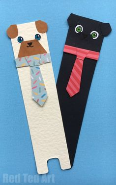 Oh my, this Pug Bookmark DIY idea is just SO CUTE! Make from scratch or use the dog template. Felt Bookmark, Bookmark Craft, Origami Bookmark, Bookmark Ideas, Bookmarks Diy Kids, Creative Bookmarks, Corner Bookmarks, Diy For Kids, Crafts For Kids