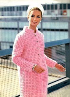 Reynolds Knits Around the Clock Fashions 1960s
