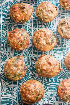 Prosciutto-Wrapped Pesto Frittata Muffins | #paleo #whole30