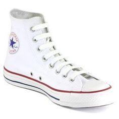 Converse high tops - white