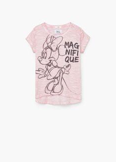 T-shirt algodão estampada | MANGO KIDS