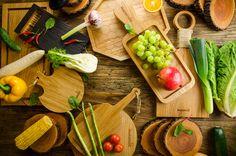 wood, fruits, vegetable, vegetarion, nature, green