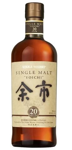 Yoichi 20 Single Malt Japanese Whisky