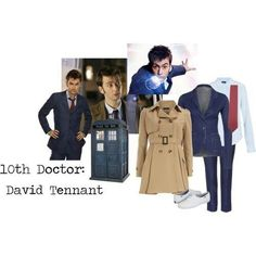 10th Doctor outfit