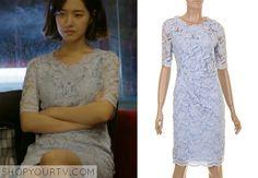 Doctor Stranger: Episode 10 Song Jae Hee's Blue Lace Dress