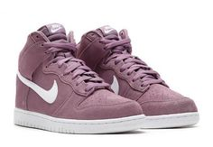 The Nike SB Dunk High has surfaced in this brand new Violet Dust colorway.