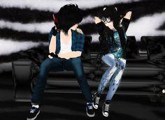 Captured Inside IMVU - Join the Fun! Virtual World, Virtual Reality, Imvu, Avatar, Join, Style, Fashion, Swag, Moda