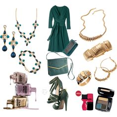 """Avon Green & Gold"" by Avon Rep Kris Stanley-Knudsen"
