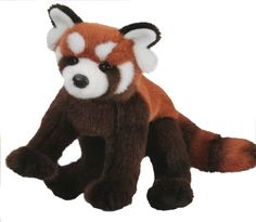 Douglas Carrots RED PANDA Plush Stuffed Animal Realistic Cuddle Toy NEW