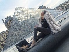 City of L♥️VE – The Tales of Paris – Bebe Shamo Paris Outfits, Winter Outfits, Casual Outfits, Louvre, Outfit Ideas, City, Travel, Jumpsuit, Bebe