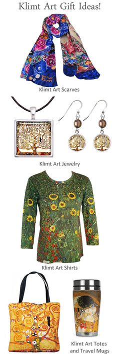 Free U.S. Shipping everyday on our Klimt Gifts and Klimt Art Gift Ideas! Gifts For