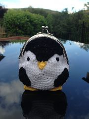 Ravelry: Penguin Coin Purse pattern by Laura Sutcliffe