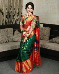 Saree Wedding, Wedding Day, Lehnga Dress, Bridal Photoshoot, Bride Portrait, Glamorous Makeup, Sari, Glamour, Image