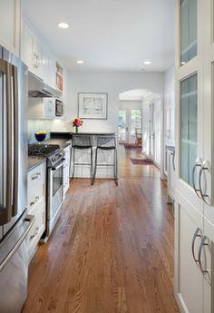 Georgetown Revival - contemporary - kitchen - dc metro - Anthony Wilder Design/Build, Inc.
