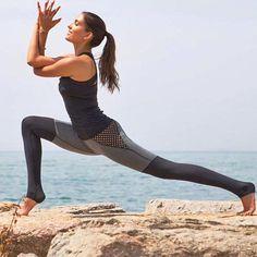 High Waist Two Tone Yoga Pants