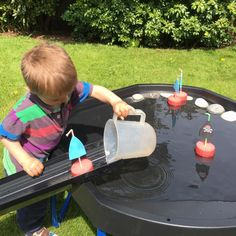 Over 70 ideas for using your Active World Tuff Spot Tray - TTS Inspiration Pirate Activities, Eyfs Activities, Infant Activities, Activities For Kids, Tuff Spot, Eyfs Classroom, Outdoor Classroom, Reception Classroom Ideas, Sand And Water
