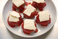 low carb meatball parmigiana