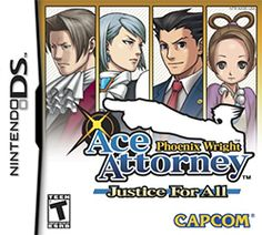Phoenix Wright: Ace Attorney − Justice for All - Wikipedia