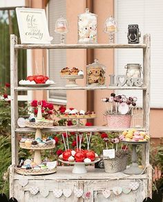 candy bar for weddings receptions | candy bar wedding reception ideas