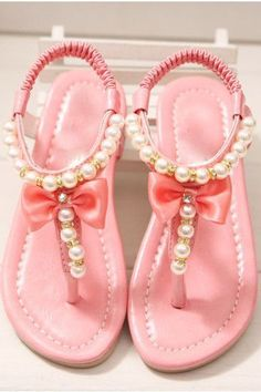 Could you die over these dainty little beauties  Pearl and ribbon detail  make these dressy 003100e672a0