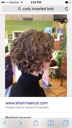Curly a-line