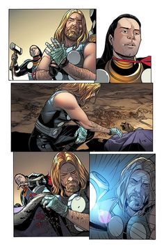 Preview: Thors #1, Page 6 of 9 - Comic Book Resources
