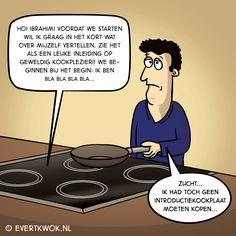Evert Kwok - cartoonist, striptekenaar & grappenmaker.