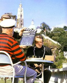 Images from the cult television show The Prisoner mark the anniversary of filming in Portmeirion, north Wales. Science Fiction, Spy Shows, Service Secret, 60s Tv, Holiday Hotel, The Man From Uncle, Drame, Tv Land, Weird Stories