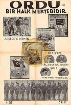 Turkey History, Turkish Soldiers, Good Old Times, Illustrations, Bookmarks, Sculpture Art, Vintage World Maps, Nostalgia, Life
