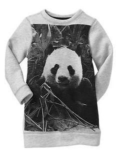 Panda sweatshirt dress... I think I might have to!