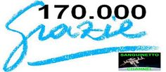 SANGUINETTO CHANNEL: 170.000 Visite...grazie a tutti