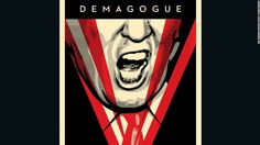 Shepard Fairey explains why he depicted Donald Trump as Big Brother and the reason he won't draw Hillary Clinton.