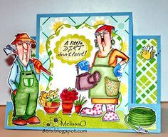 Farmer-Brown-wife 9 pc set  Made by Art Impressions. You can purchase these in my ebay store. Click on picture & it will take you into this listing. Use my search engine to find  items . My ebay Store is: Pat's Rubber Stamps & Scrapbooks or call me 423-357-4334  with order. We take PayPal. You get free shipping with $30.00 or more on phone orders.