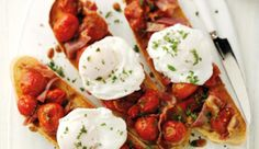 Breakfast Bruschetta | Shake Up Your Wake up