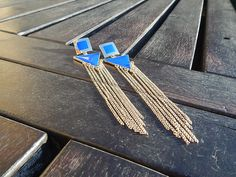 Kék fülbevaló  http://redrouge.hu/