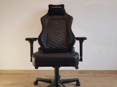 Noblechairs Hero Review: A Graceful Full-Featured Gaming Chair Steelcase Leap, Office Setup, Best Model, Gaming Chair, Real Leather, Games, Office Organisation, Toys