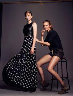 Jac Jagaciak and Areta Szpura for Fashion Magazine