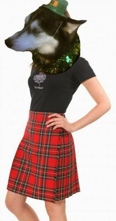 Thoughtless Thursday- St.Pats style! Mika in a kilt!