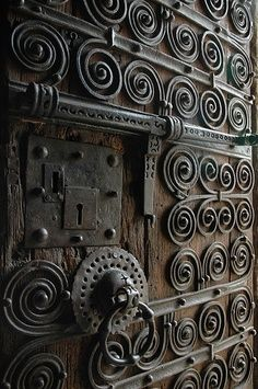 Intricate metal work