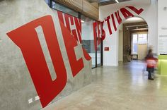 #signage #wall #signalétique #espace #typography Designspiration — Collate