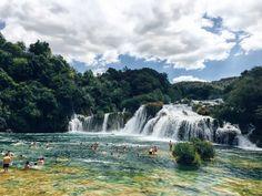 #narodný #park #Krka #waterfallsKrka #Croatia